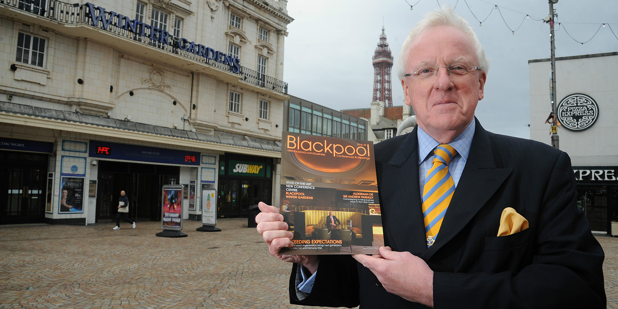 Sir Andrew Parmley To Lead New Blackpool Ambassador