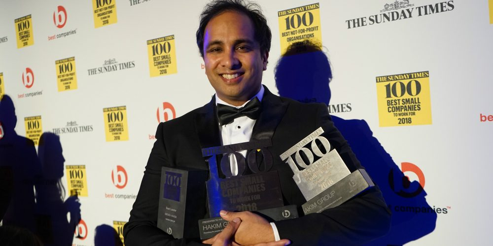 Hakim Group Sunday Times Best Companies to Work For