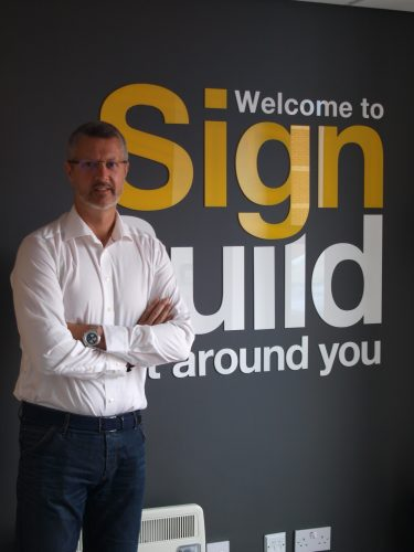 Mark Cowin, managing director at Sign Build