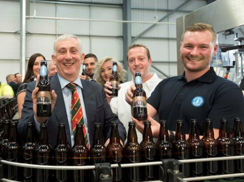 Opening of Morrow Brothers new bottling plant Buckshaw Village officially opened by Lindsay Hoyle MP