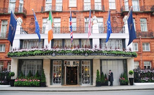 Claridges external