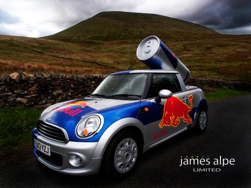 James Alpes Red Bull Mini