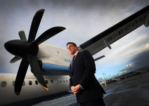 Craig Gallacher. CEO of MB Aerospace Holdings Limited.25/11/11Picture © Andy Buchanan 2011