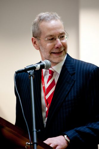 Blackburn College principal Ian Clinton