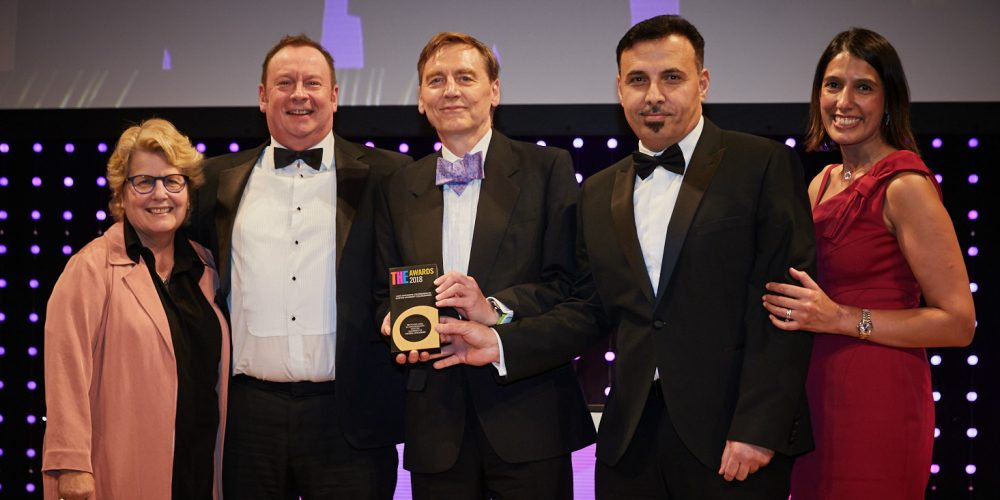 UCLan Recycling Lives Times Higher Education Awards