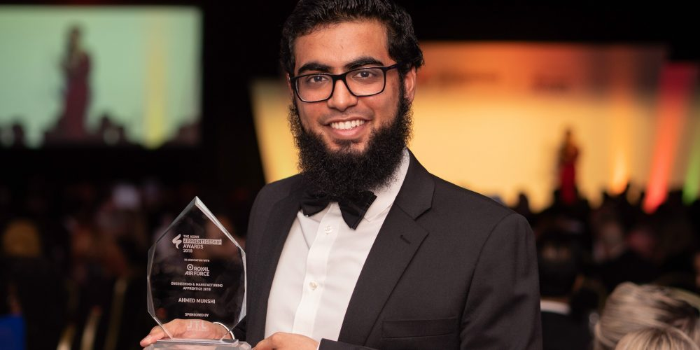Ahmed Munshi BAE Systems Asian Apprentice Awards