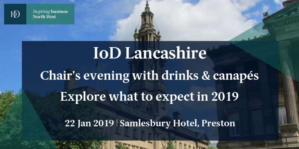 IoD Lancashire 2019 chair's evening