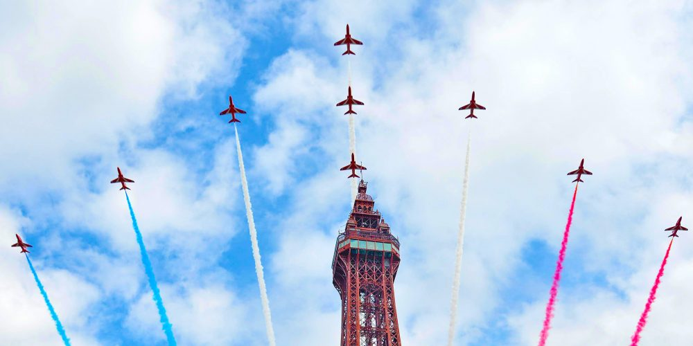 Blackpool Air Show Red Arrows