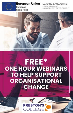 Supporting organisational change webinars