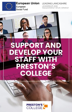 Preston's College: Adult virtual open event